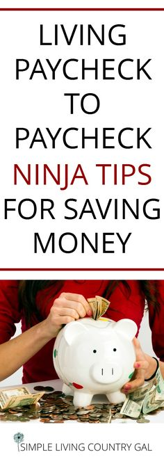 How to save money even if you think you can't. Unique ways to save money even if you live paycheck to paycheck. #moneysavingtips #savemoney #frugal