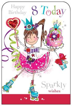 Happy Birthday Decor, Birthday Wishes For Kids, Todays Birthday, Happy Birthday Wishes Images, Happy Birthday Girls, Happy Birthday Pictures, Birthday Week, Art Birthday, Birthday Images