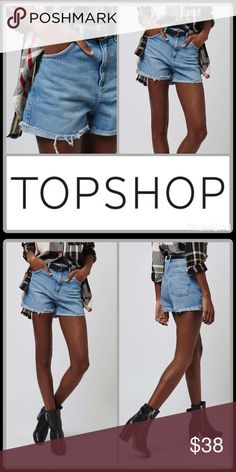 "JUST IN🆕GIRLFRIEND DENIM SHORTS NWOT-Relaxed cotton-denim shorts in a light blue wash get a grungy boost from raw, cuffed hems ▪️3"" inseam; 24"" leg opening; 13"" front rise; 15"" back rise  ▪️Zip fly with button closure ▪️Five-pocket style ▪️100% cotton ▪️Machine wash, line dry  🛍 2+ BUNDLE=SAVE  ‼️NO TRADES--NO HOLDS--NO MODELING  💯 Brand Authentic  ✈️ Ship Same Day--Purchase By 2PM PST  🖲 USE BLUE OFFER BUTTON TO NEGOTIATE   ✔️ Ask Questions Not Answered In Description--Want You To Be…"