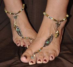 barefoot sandals | Feather Barefoot Sandals!