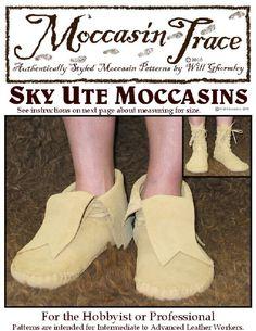 Sky Ute Moccasin Tutorial