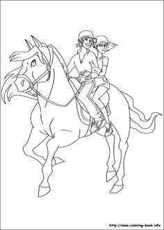 The Ranch Coloring Picture