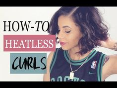 HOW-TO HEATLESS CURLS | CAMILLE COLLAZO - YouTube