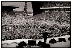 Noel Gallagher onstage as Oasis play Maine Road in 1996. I was there. 2nd best gig of my life so far.