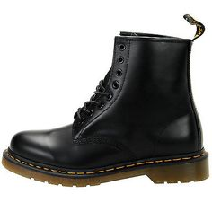 Dr Martens 1460 Boot Mens 11822006 Black Leather 8 Eyelet Boots Shoes Size 8