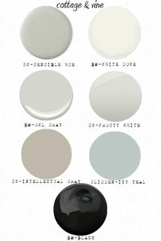 cottage and vine: Cottage & Vine Paint Colors