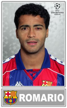Romario. FC Barcelona 1994  http://es.wikipedia.org/wiki/Rom%C3%A1rio