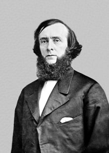 Edwards Pierrepont (March 4, 1817 – March 6, 1892) was an American statesman, jurist and lawyer. Having graduated from Yale in 1837, Pierrepont studied law and was admitted to the bar in 1840. During the American Civil War, Pierrepont was a loyal Democrat who supported President Abraham Lincoln. Pierrepont supported President Andrew Johnson's conservative Reconstruction efforts having opposed the Radical Republicans.