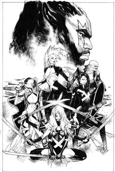 Uncanny X-Force by Olivier Coipel *