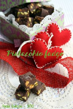 Pistacchio fudge
