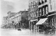 1917 Flood. Chattanooga, Tennessee