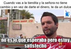 Tipico cuando te dan el cambio en caramelos xd Para más imágenes graciosas visita: https://www.Huevadas.net #meme #humor #chistes #viral #amor #huevadasnet