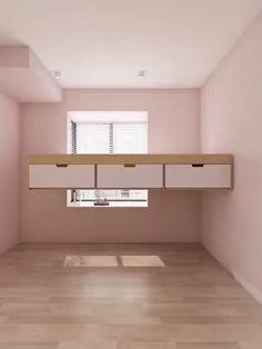 Small Room Design Bedroom, Small House Interior Design, Girl Bedroom Designs, Bedroom Furniture Design, Home Room Design, Kids Room Design, Diy Bedroom Decor, Indian Bedroom Decor, Space Saving Bedroom