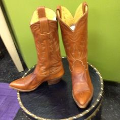 """Selling this """"REDUCED!! Nocona Vintage Cowgirl boots"""" in my Poshmark closet! My username is: class4half. #shopmycloset #poshmark #fashion #shopping #style #forsale #Nocona #Boots"""