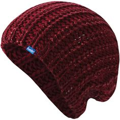 Keds Metallic-Coated Knit Beanie ($16) ❤ liked on Polyvore featuring accessories, hats, beanies, knit cap beanie, keds, red beanie hat, knit hat and knit beanie