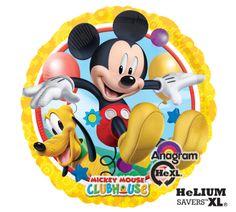 """Mickey & Pluto 18"""" Mylar Balloon"""