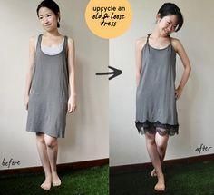 Reciclar vestidos viejos