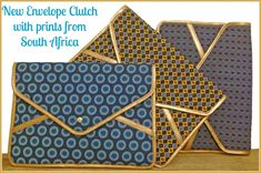 Traditionally worn by grannies in South Africa, we handpicked this shwe-shwe fabric and transformed it into an upbeat/glam option for your iPad or files to go from office hour to cocktail hour. Let us know what you think! African Print Dress Designs, Fair Trade Clothing, Smart House, Ethical Shopping, Envelope Clutch, African Fabric, Hand Bags, African Fashion, Fabric Design
