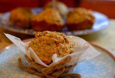 Muffin Avena, Chía y Zanahoria - nutralicioso