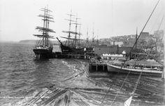 Yesler's wharf seattle 1880