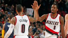 """""""Chief Aminu"""" - When Aminu's tiring shots, Portland is a different team. #delay"""
