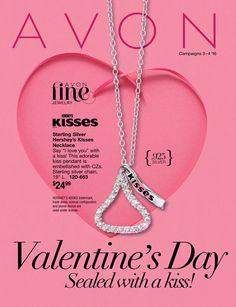 Veiw #Avon's #Valentine Flyer #Online Now, Campaign 3 January 2016 at www.deannasbeautyshop.com.