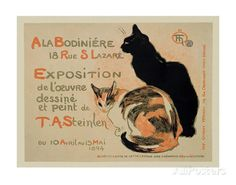 Exposition at Bodiniere Print by Théophile Alexandre Steinlen at AllPosters.com