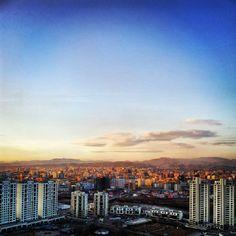 Ulaan Baatar, hoofdstad van Mongolie (bezocht in 1998 tijdens wereldreis met Transsiberie Express).
