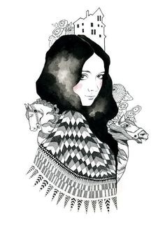 Beautiful illustration by Catherine Campbell from Melbourne Australia.