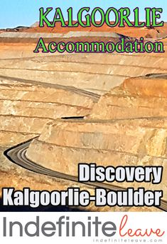 The Discovery Kalgoorlie-Boulder Holiday Park is a great base so you can explore everything in and around Kalgoorlie including The Super Pit, Hannans North Tourist Mine and other fascinating places! Caravan Parks, Park Around, Holiday Places, Holiday Park, Western Australia, Bouldering, Discovery, Base, Tours