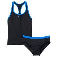 Girls 7-14 Nike 2-pc. Tankini Swimsuit Set