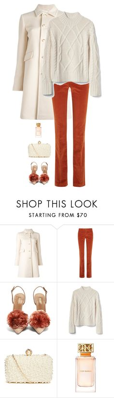 """""""Untitled #9147"""" by miki006 ❤ liked on Polyvore featuring Gucci, Aquazzura, GUESS by Marciano and Tory Burch"""
