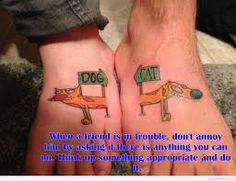 Best friend tattoo with my bestie i can always count on for Funny sister tattoos