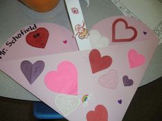 PATTIES CLASSROOM: Valentine Kids Cards and #Valentine Card Holders...