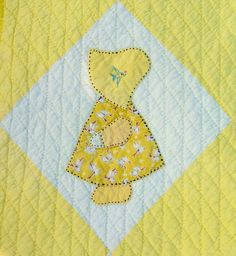 Free Sunbonnet Sue Quilt Pattern | ... are much older than the quilt the quilts were made in the early 60