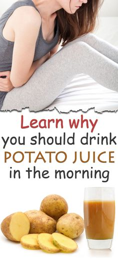 Potato juice is one of the most beneficial gastric drinks. Although it does not taste very well, potato juice is beneficial to the body, relieving a lot