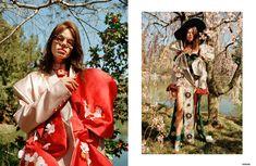 Conceptual Flower Child Fashion : Annie Li