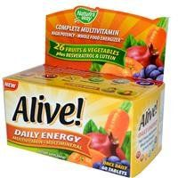 Alive Daily Energy Natures Way 60 Tabs >>> You can get additional details at the image link.