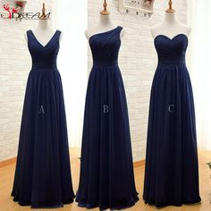 Convertible 2016 Cheap Bridesmaid Dresses Mint Green Navy Blue Chiffon Long Discount Wedding Party Dresses Under 60-in Bridesmaid Dresses from Weddings & Events on Aliexpress.com | Alibaba Group