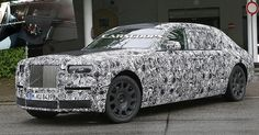 2018 Rolls Royce Phantom Mk2 Spied Inside And Out, Gets Fully Digital Dash #Rolls_Royce #Rolls_Royce_Phantom