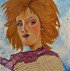 Once Upon A Time by Amy Tuso in the FASO Daily Art Show