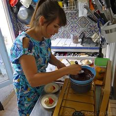 Lunch at The Little Paris Kitchen (La Petite Cuisine à Paris) Paris Kitchen, Cosy Kitchen, Chef Rachel Khoo, Rita Lobo, French Apartment, Little Paris, Organic Recipes, Lunch, Food Ideas