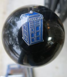 Doctor Who Tardis Shift Knob #2 - HouseOspeed - Hot Rod Shift Knob