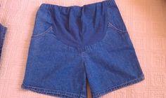 NICE! In Due Time Maternity Denim Shorts!. Sz 10 - EUC!