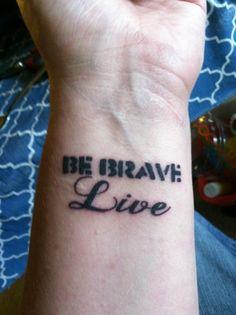 My newest tattoo. Buffy The Vampire Slayer inspired. I love it.