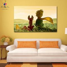 DIY Painting by numbers princekin and fox little Prince star rose picture coloring paints by numbers with kits for wall decor Home Wall Painting, Oil Painting Frames, Diy Painting, Color By Numbers, Paint By Number, Canvas Pictures, Pictures To Paint, Paintings Famous, Rose Pictures