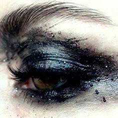New eye shadow aesthetic black ideas Makeup Inspo, Makeup Art, Eye Makeup, Makeup Ideas, Media Makeup, Goth Makeup, Makeup Salon, Makeup Studio, Airbrush Makeup