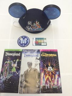 """BUY IT NOW""... ONLY $42.85 .. NEW ""DISNEYLAND ""Limited Edition"" 60th DIAMOND ANNIVERSARY MICKEY MOUSE EARS HAT ....""JUST RELEASED FEBRUARY 27th 2016""... All PROCEEDS FROM SALE OF THESE HATS DONATED TO ""MAKE A WISH FOUNDATION"" BY DISNEYLAND ... PLUS ALSO INCLUDED GET : (1) ""FREE"" STARBUCKS $10.00 GIFT CARD WITH YOUR PURCHASE ... (PLEASE TAP ON THE PICTURE TWICE TO SEE MORE GREAT DETAILS AND MORE PICS) .... #DISNEYLAND #Disneyland60th #WaltDisneyWorld #STARBUCKS #COFFEE #MickeyMouse…"