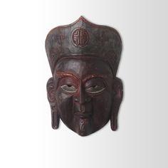 Máscara de Teatro Chinesa do Folclore Chinês - Rei 1