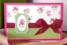 """Stampin' Up ! By Laurence: Ensemble """"Baby Blossoms"""""""